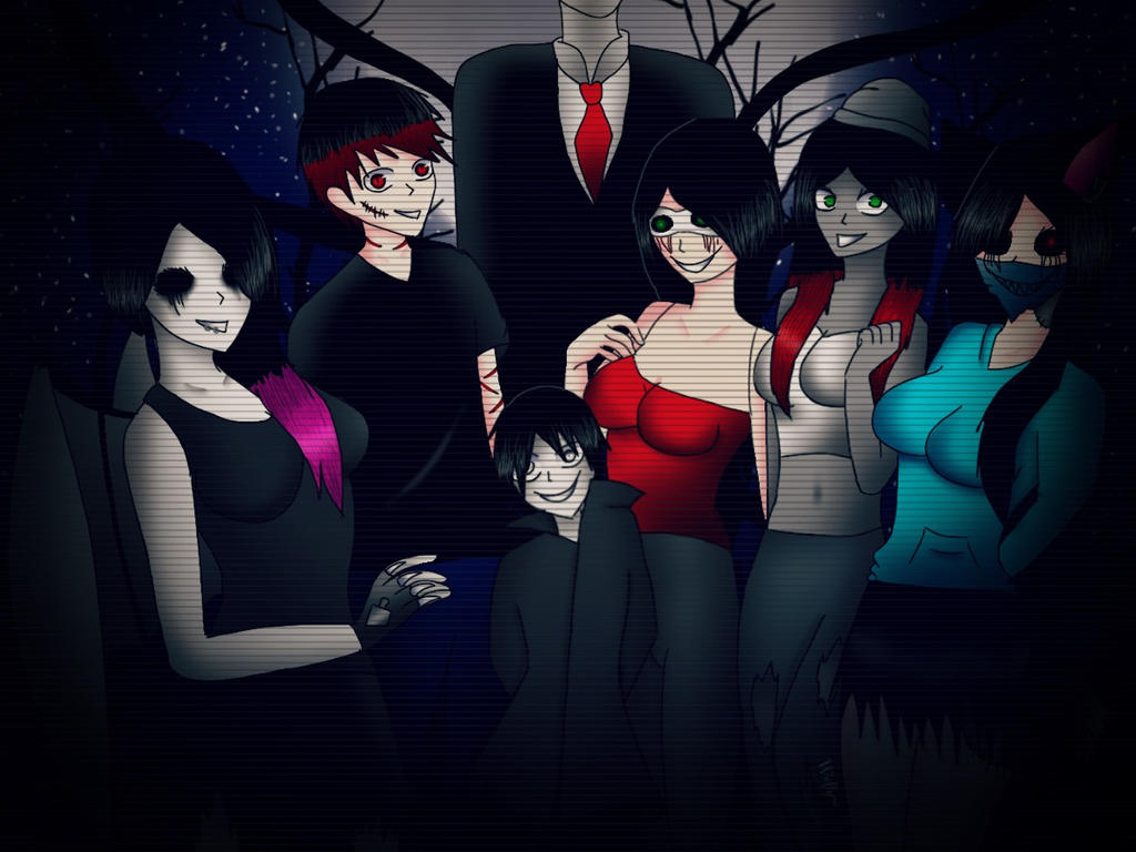 The killer meet by Pinkwolfly