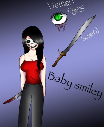 Baby smiley  by Pinkwolfly