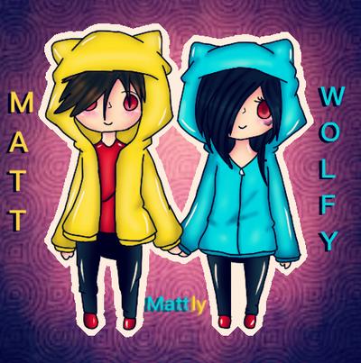 Matt  Wolfy by Pinkwolfly