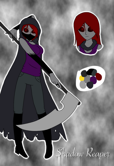 Cp oc-Shadow Reaper by Pinkwolfly