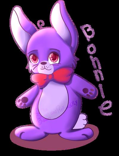 Chibi Bonnie  by Pinkwolfly