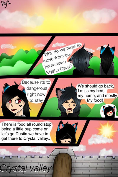 The beginning-page 1 by Pinkwolfly