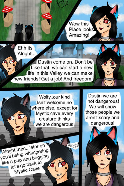 The beginning-page 2 by Pinkwolfly