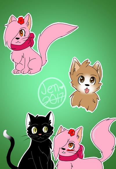 Random stuff by Pinkwolfly