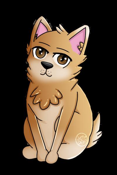 Corgi dog thing by Pinkwolfly