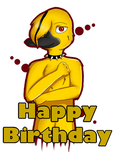 Happy birthday-Matthew  by Pinkwolfly