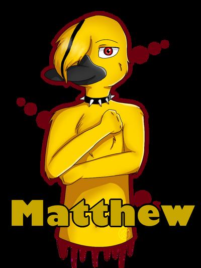 Matthew  by Pinkwolfly