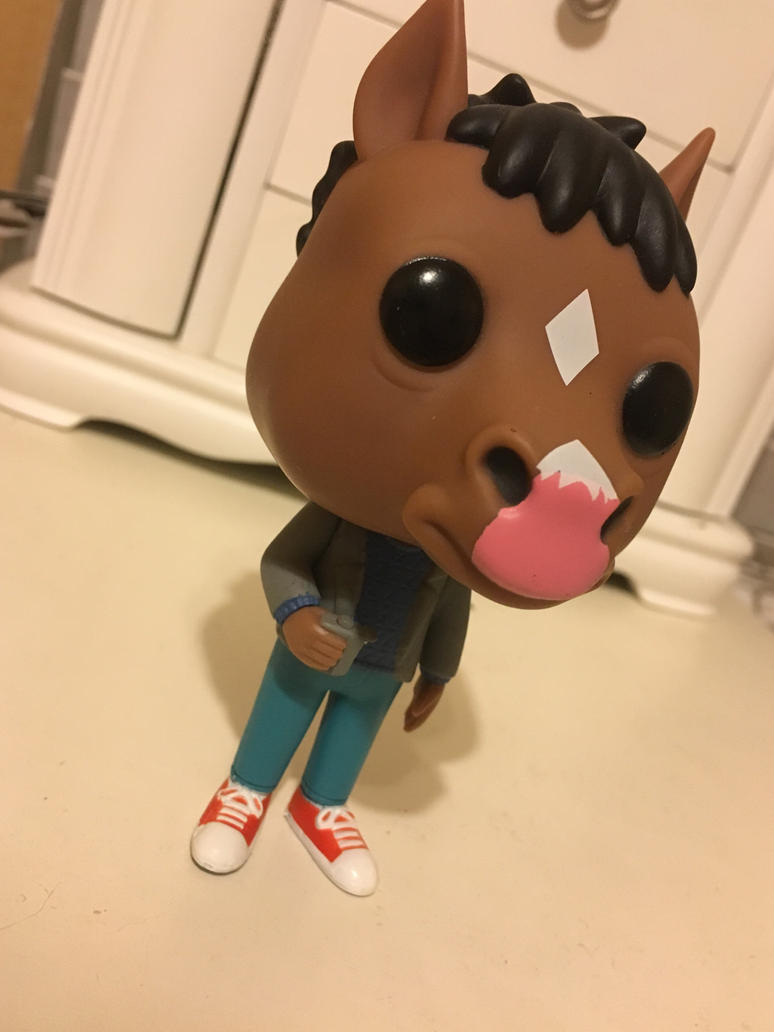 BoJack Horseman-Pop figure by Pinkwolfly