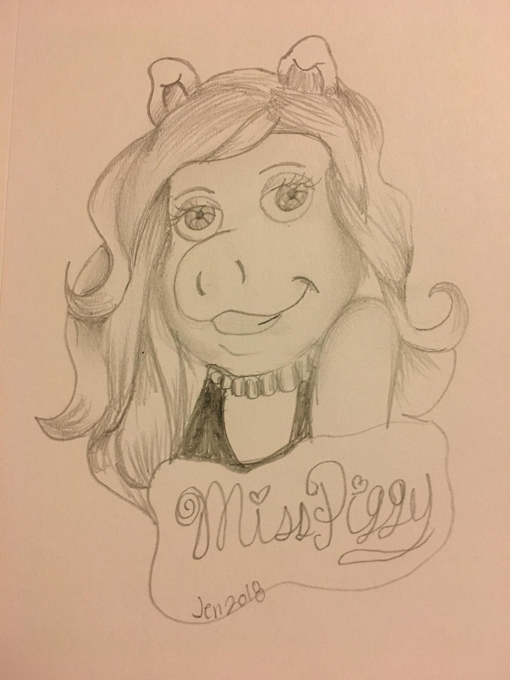 Miss Piggy by Pinkwolfly