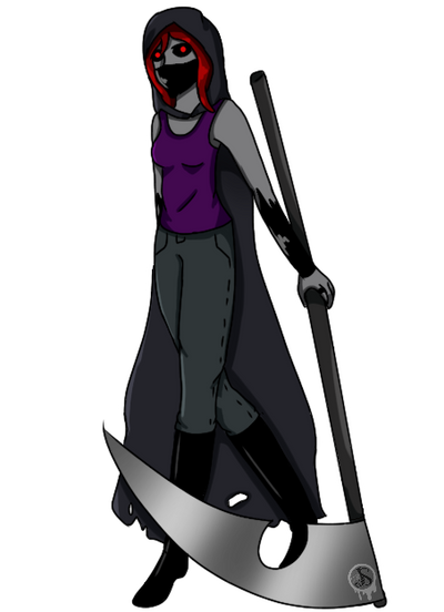 Shadow Reaper  by Pinkwolfly