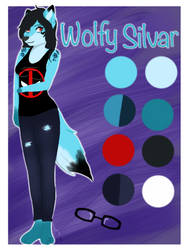 Wolfy Silvar-Ref sheet 2019 by Pinkwolfly