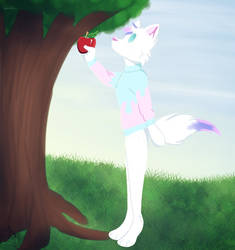 Apple by Pinkwolfly