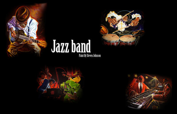 Jazz Band by Camunder