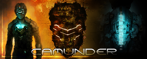 Dead space 2 sign by Camunder