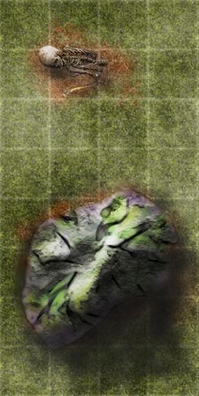 Tiles skull rock by Camunder