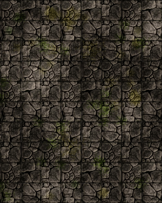 dungeon OLD rock tiles by Camunder