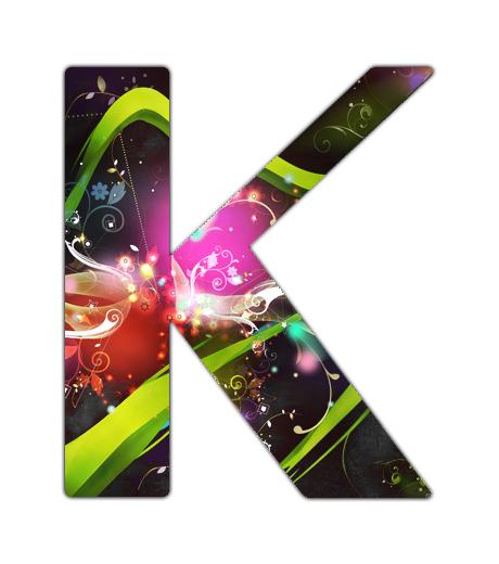 K letter typo by Camunder