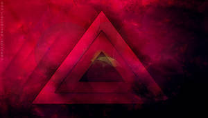 Abstract triangle by Camunder
