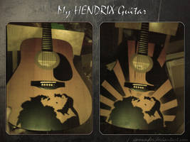 My hendrix guitar !! by Camunder