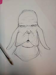 Dog man by Camunder