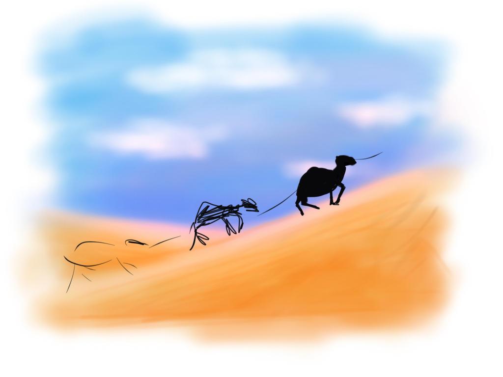 Camel volution  by Camunder