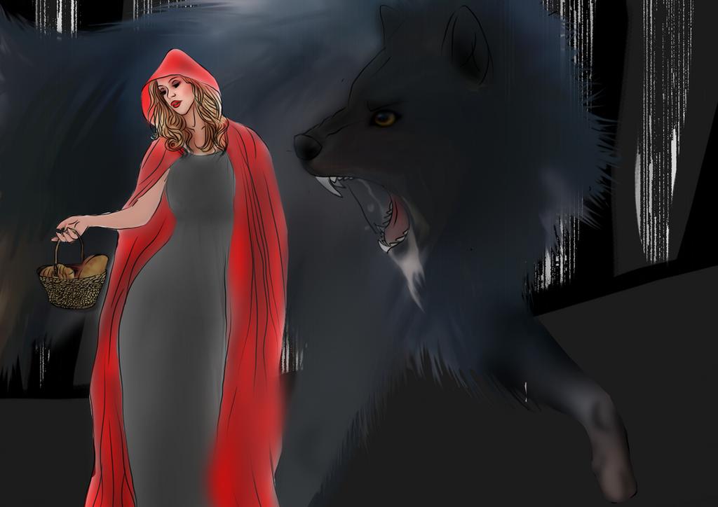 Red Riding Hood by dark-water-demons
