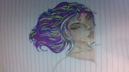 random sneaky drawing