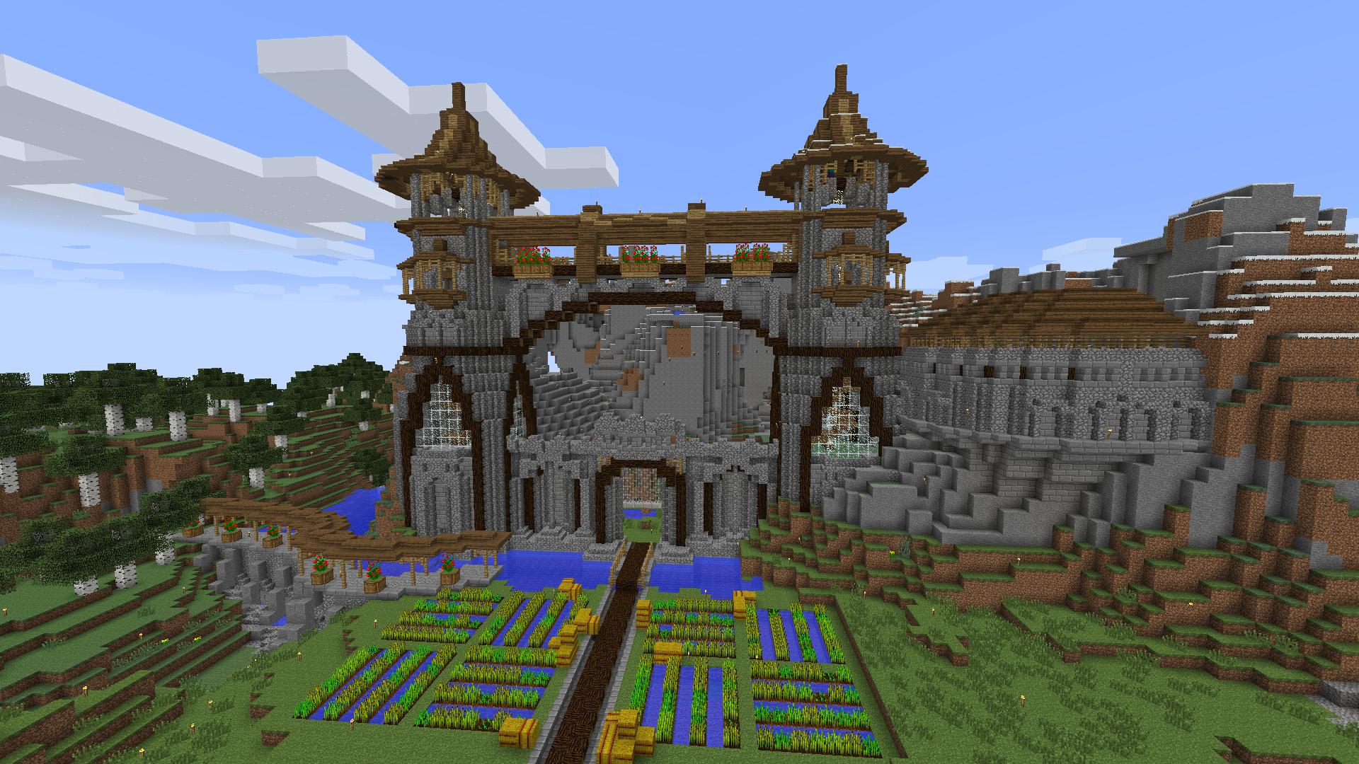 Best Minecraft Gate Designs For Castles