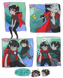 Karezi comic by VulpesLunaris