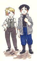 Outfit Swap by VulpesLunaris