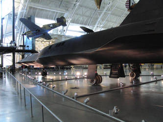 BronyCon 2014: SR-71 Blackbird by spw6