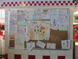 BronyCon 2014: Five Guys Board by spw6