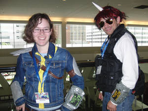 BronyCon 2014: Little Pip and Blackjack Cosplay