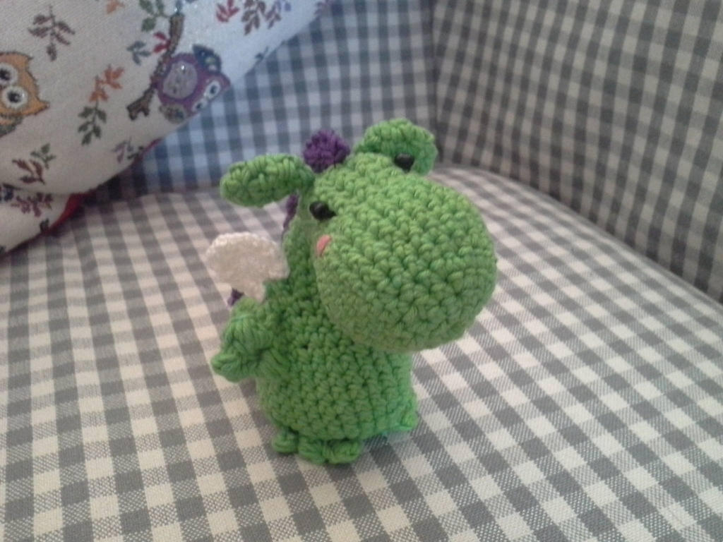 Amigurumi Cute Dragon by hyky