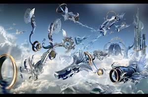Aquaria Wars by olivercd