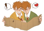 Gred and Forge Weasley
