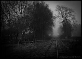 The Railroad by Vitskog