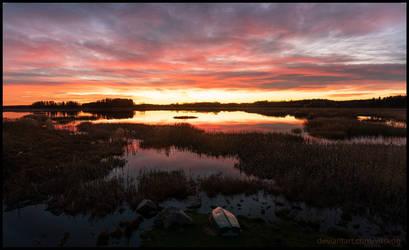 Lake Tegelsmora by Vitskog