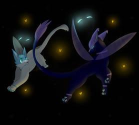 ..- Fireflies -.. by ThatOneCatOnline