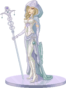 Eleana, White Mage of the Crys by lithriel