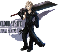 Cloud Strife by lithriel