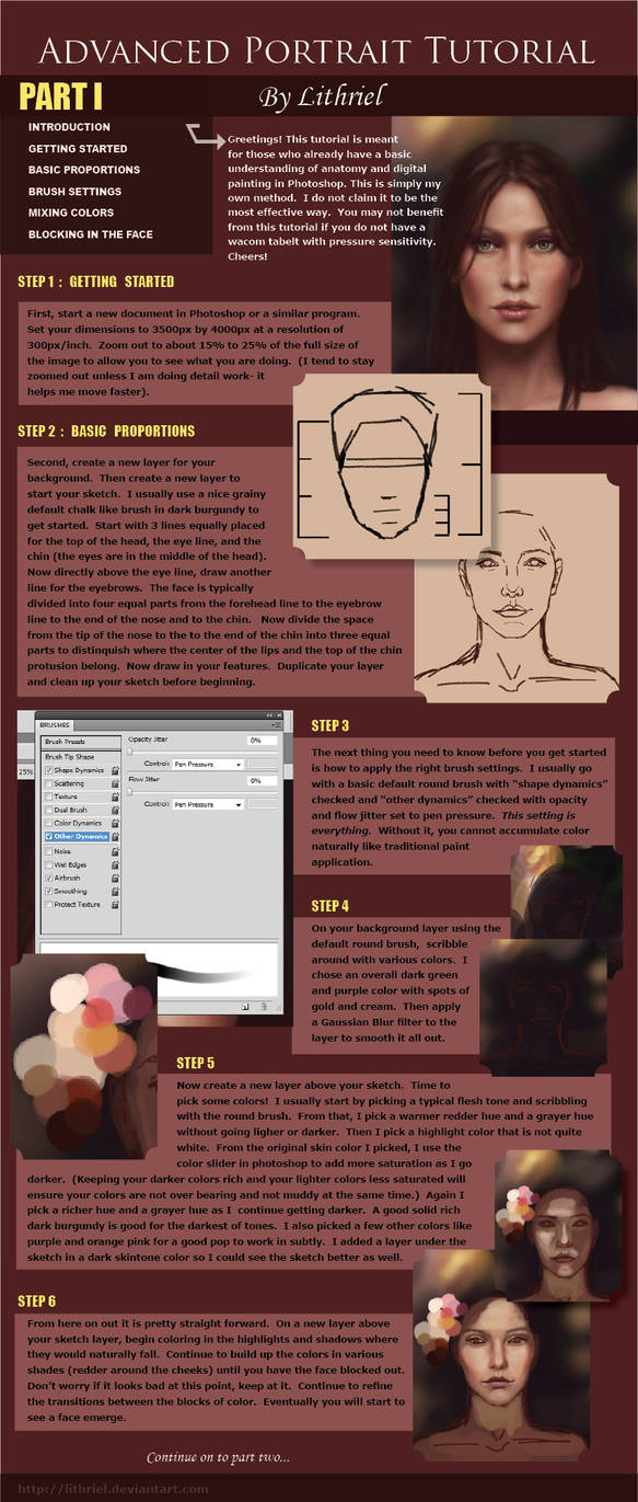 Digital Painting Tutorial Pt I by lithriel