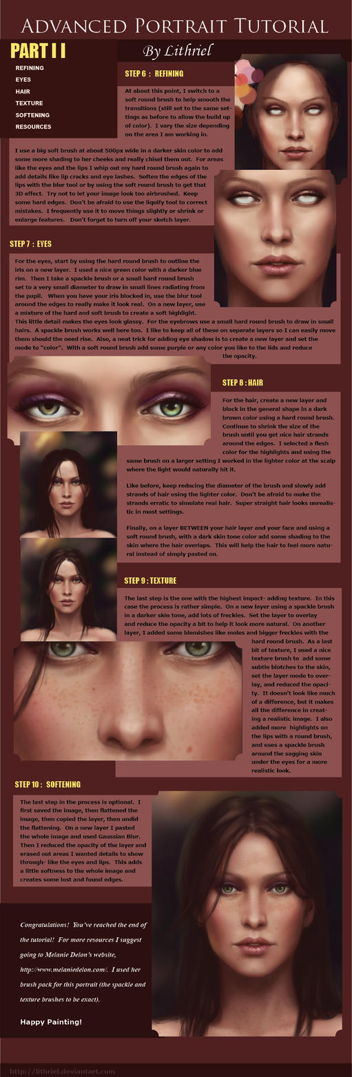Digital Painting Tutorial Pt 2 by lithriel