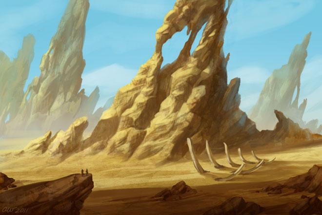 Desert Speedpaint by lithriel