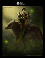 Dark Relic Female Ranger Concept by lithriel