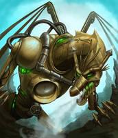Outcast Odyssey Steampunk Dragon by lithriel