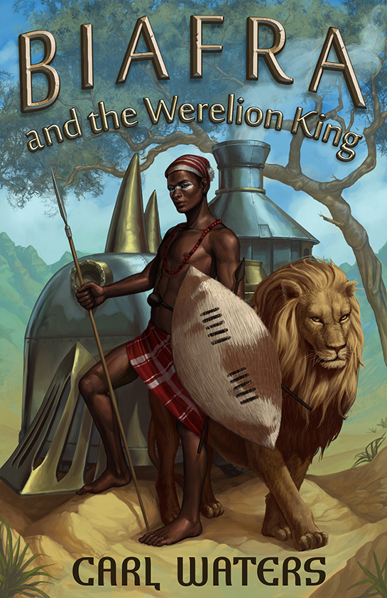 Biafra and the Werelion King by lithriel