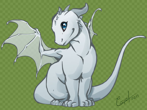 Chibi Dragon by Meedup