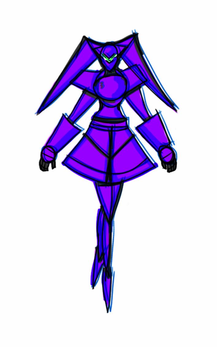 Girl Mecha Robot by Ian2410