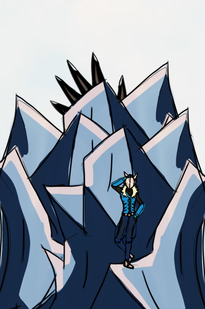 Frostbite VS. Giant Monster by Ian2410